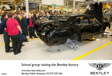 Bentley convida colaboradores do futuro