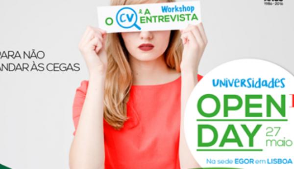"A EGOR vai realizar ""Open Days"" gratuitos"