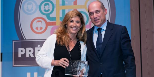 Marta Maia arrecada prémio para Directora de Recursos Humanos