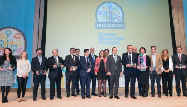 Os vencedores dos Prémios Human Resources 2015