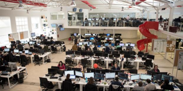 Transformar o ambiente de trabalho