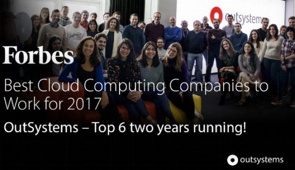 OutSystems reconhecida pela Forbes