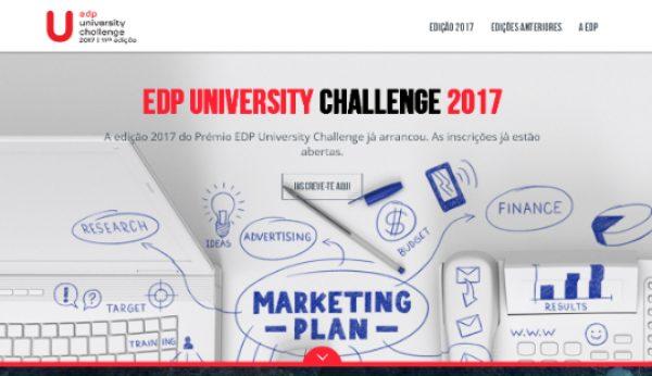 EDP desafia estudantes universitários