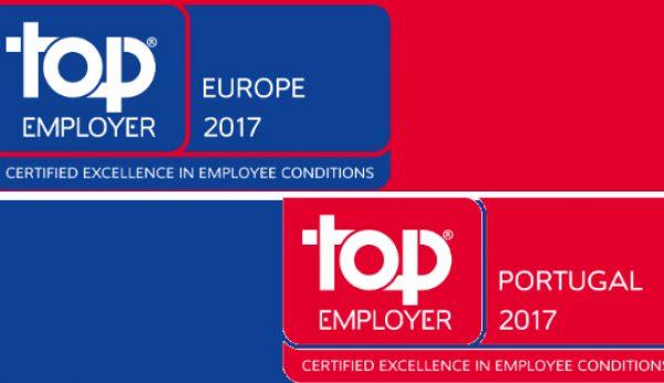 Makro com dupla certificação Top Employer 2017