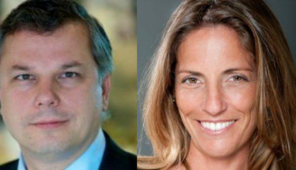 René Steenvoorden e Vera Pinto Pereira na Conferência Human Resources