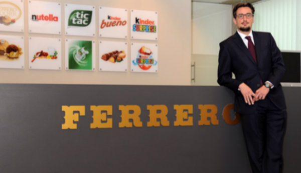 Ferrero reforça crescimento global com nova administração