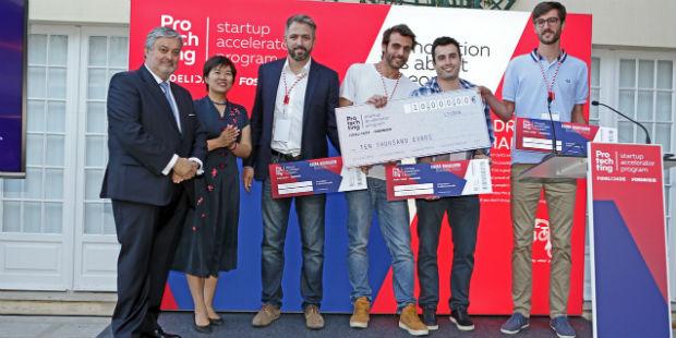 O programa Protechting já tem três vencedores