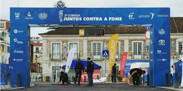 """Lusitania Seguros apoia IV Corrida """"Juntos Contra a Fome"""""""