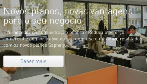 Nova versão da plataforma de contratação pública SaphetyGov