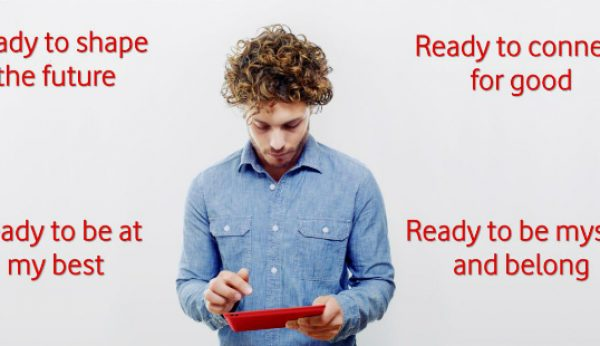 Vodafone adopta novo posicionamento global