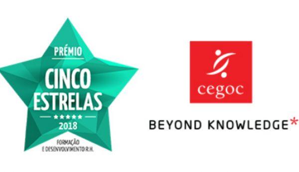 CEGOC vence Prémio Cinco Estrelas em categoria de formação