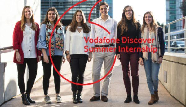 Vodafone abre candidaturas para estágios de Verão