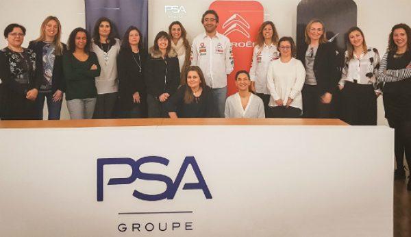 Women Engaged for PSA quer 20% de liderança feminina em 2020