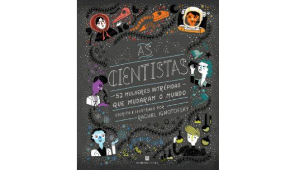 As Cientistas em livro