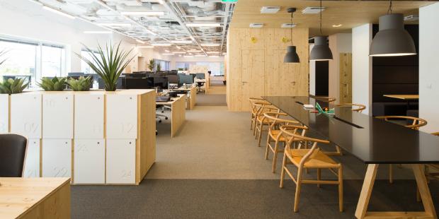 O novo escritório da Fullsix
