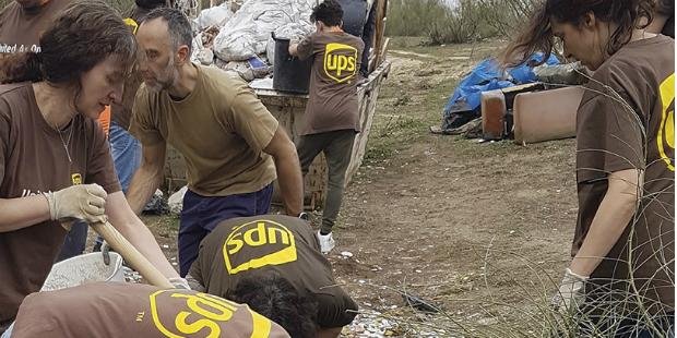 UPS continua a aposta no voluntariado