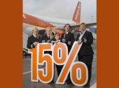 15% dos novos pilotos da easyJet são mulheres