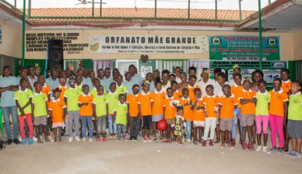 Fidelidade promove a saúde de crianças e jovens em Angola