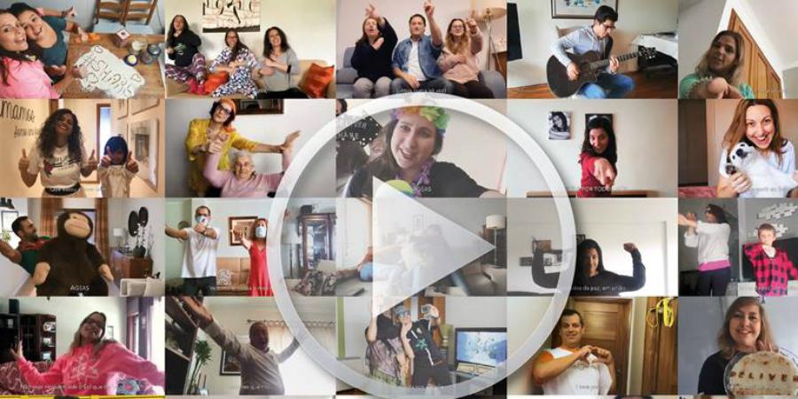 Colaboradores da Ageas criam vídeo para reforçar a importância de ficar em casa